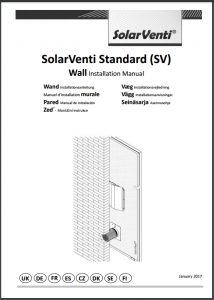 Vægmontering SV3 - SV30